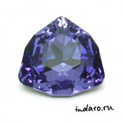 Swarovski Trilliant 4706 Tanzanite 24mm