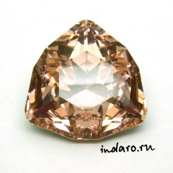 Swarovski Trilliant 4706 Vintage Rose 24mm