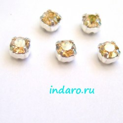 Swarovski Шатон 53200, 4мм, GoldenShadow